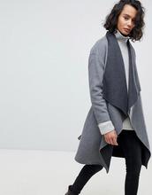 AllSaints | Пиджак с драпировкой AllSaints - Серый | Clouty
