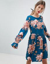 Vila | Свободное платье с цветочным принтом Vila - Мульти | Clouty