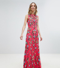 Frock And Frill | Декорированное платье макси Frock And Frill Premium - Розовый | Clouty