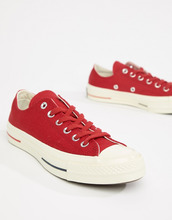 CONVERSE | Красные низкие кроссовки Converse Chuck Taylor All Star '70 - Красный | Clouty