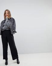 VERO MODA | Широкие брюки с завышенной талией Vero Moda - Черный | Clouty