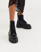 Dr. Martens | Ботинки на плоской платформе Dr Martens Jadon - Черный | Clouty