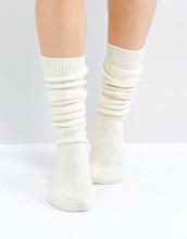 ASOS | Длинные носки ASOS DESIGN - Кремовый | Clouty