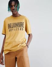 Billionaire Boys Club | Золотистая футболка с леопардовым принтом логотипа Billionaire Boys Club - Желтый | Clouty