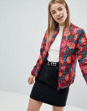 ASOS   Дутая куртка с цветочным принтом ASOS - Мульти   Clouty