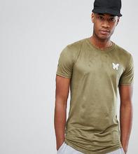 Good For Nothing | Обтягивающая футболка цвета хаки из искусственной замши Good For Nothing эксклюзивно для ASOS - Зеленый | Clouty