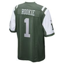 NIKE | Мужское джерси для американского футбола NFL New York Jets Game Jersey (Rookie) | Clouty