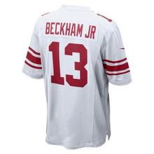 NIKE | Мужское джерси для американского футбола для игры на выезде NFL New York Giants Game Jersey (Odell Beckham Jr.) | Clouty