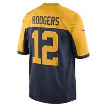 NIKE | Мужское джерси для американского футбола NFL Green Bay Packers Game Jersey (Aaron Rodgers) | Clouty