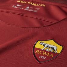 NIKE | Женское футбольное джерси 2017/18 A.S. Roma Stadium Home | Clouty