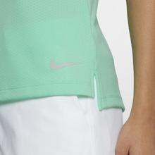 NIKE | Женская рубашка-поло без рукавов для гольфа Nike Dri-FIT | Clouty