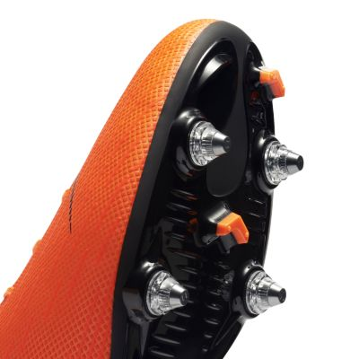 NIKE   Оранжевый Футбольные бутсы для игры на мягком грунте Nike Mercurial  Vapor XII Academy SG 0288188621d