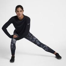NIKE | Женские беговые тайтсы с принтом Nike Epic Lux | Clouty