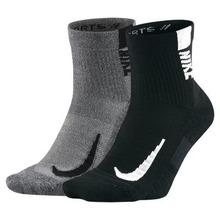 NIKE | Носки до щиколотки для бега Nike Multiplier (2 пары) | Clouty