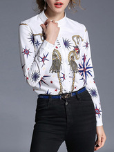 Shein | Rope Print Shirt | Clouty