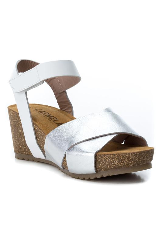 Carmela   Silver platform sandals Carmela   Clouty