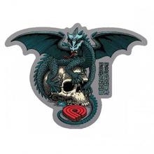 Powell Peralta | Наклейка Powell Peralta Dragon Skull | Clouty