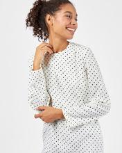 12Storeez | Платье миди в мелкий горошек L | Clouty