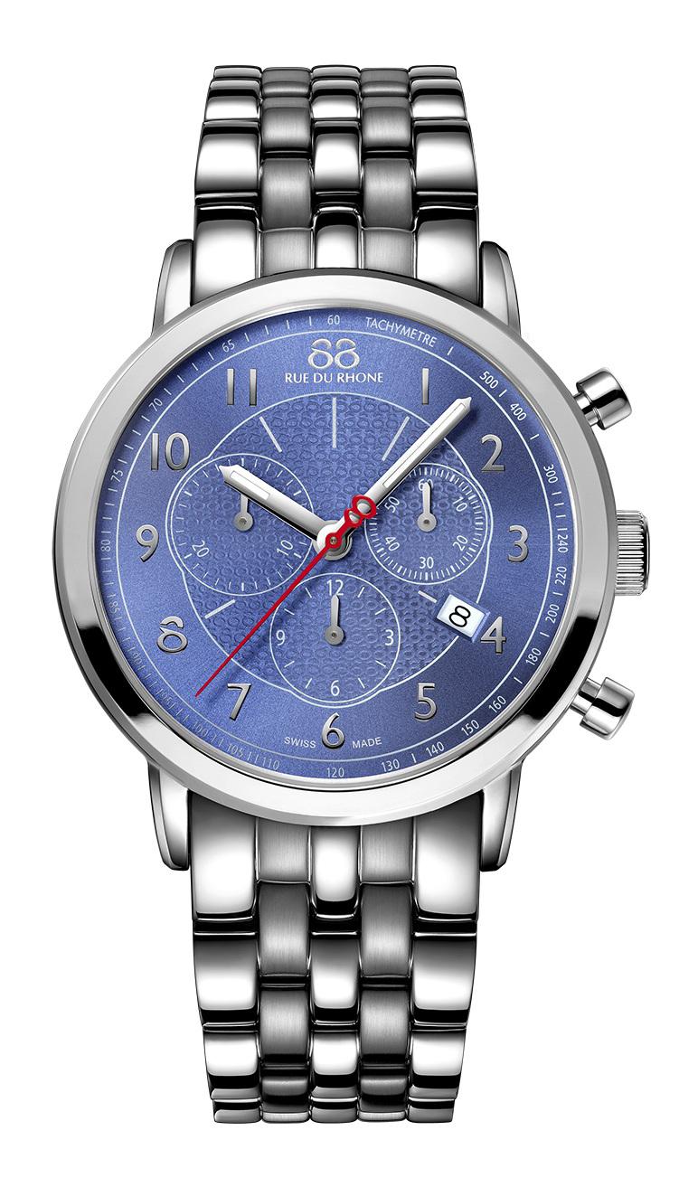 Часы 88 rue du rhone продолжают швейцарские традиции часового искусства.