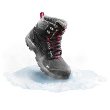 Quechua | Женские Ботинки Для Зимних Походов Sh520 X-warm Mid | Clouty