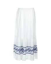 120% Lino | Юбка с вышивкой | Clouty