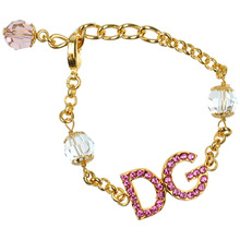 Dolce & Gabbana | Браслет-цепочка с логотипом | Clouty