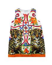 Dolce & Gabbana | Платье с принтом Mondello | Clouty