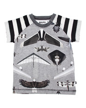 Molo | Хлопковая футболка Planes and Birds | Clouty