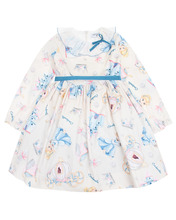 Monnalisa | Платье с плиссированным воротником и принтом «Cinderella» | Clouty