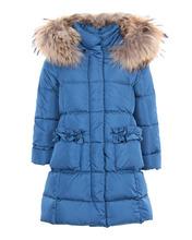 Il Gufo | Приталенное пальто с меховой отделкой | Clouty