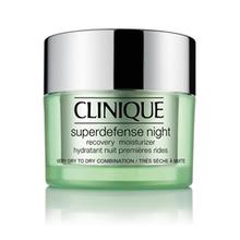 Clinique | CLINIQUE Ночной восстанавливающий увлажняющий крем Superdefense Night Recovery Moisturizer для сухой и склонной к сухости кожи 50 мл | Clouty