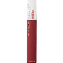 "Maybelline   MAYBELLINE Суперстойкая жидкая матовая помада для губ ""Super Stay Matte Ink"" № 5, Поклонник, 5 мл   Clouty"