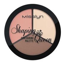 Misslyn   MISSLYN Палетка для контуринга лица Shaping Queen № 6   Clouty