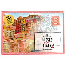 Essence | Румяна для лица ESSENCE KISSES FROM ITALY в бумажных лепестках | Clouty