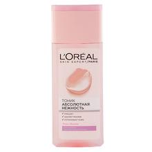 L'Oréal Paris | Тоник для лица LOREAL SKIN EXPERT АБСОЛЮТНАЯ НЕЖНОСТЬ Роза и жасмин для сухой и чувствительной кожи 200 мл | Clouty