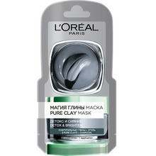 L'Oréal Paris   Маска для лица LOREAL МАГИЯ ГЛИНЫ Детокс и сияние 6 мл   Clouty