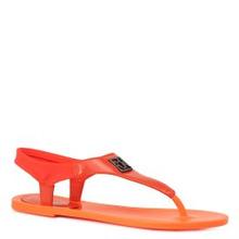 Calvin Klein | Сандалии CALVIN KLEIN JEANNE ярко-оранжевый | Clouty