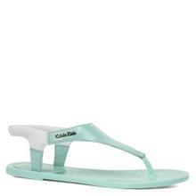 Calvin Klein   Сандалии CALVIN KLEIN JELENA зелено-голубой   Clouty
