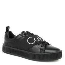 Calvin Klein | Кеды CALVIN KLEIN ANTONIA черный | Clouty