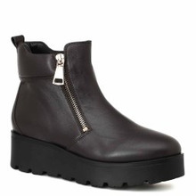 Massimo Santini | Ботинки MASSIMO SANTINI 62080009 темно-коричневый | Clouty
