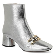 Marc Jacobs | Ботинки MARC JACOBS M9002065 серебряный | Clouty