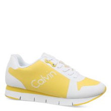 Calvin Klein | Кроссовки CALVIN KLEIN TALINE желтый | Clouty