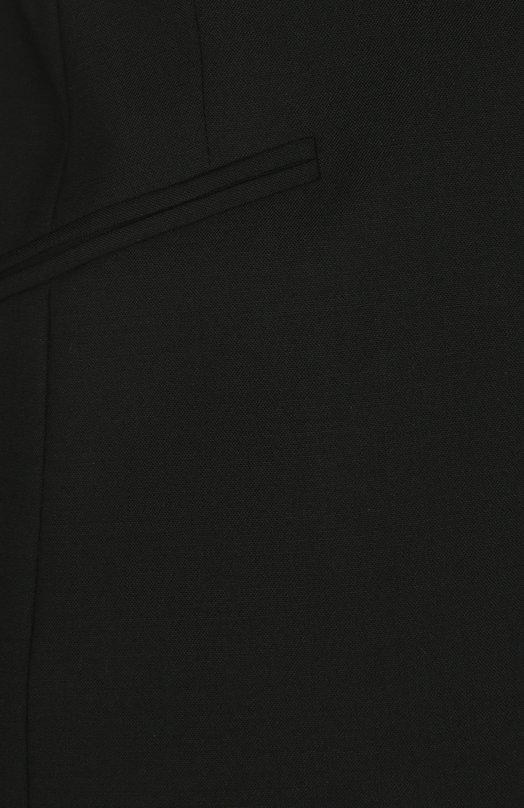 BOSS   Черный Приталенный жакет на одной пуговице с карманами BOSS   Clouty