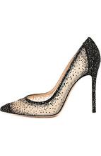 Gianvito Rossi | Замшевые туфли с кристаллами Swarovski Gianvito Rossi | Clouty
