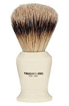 Truefitt & Hill | Кисть для бритья, Ворс серебристого барсука / Слоновая кость с серебром / Carlton Truefitt&Hill | Clouty