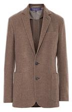 Ralph Lauren | Кашемировый жакет прямого кроя с накладными карманами Ralph Lauren | Clouty