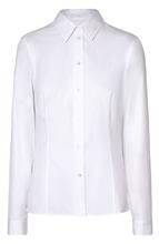 BOSS | Хлопковая приталенная блуза BOSS | Clouty