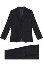 Armani Junior | Шерстяной костюм с пиджаком на двух пуговицах Armani Junior | Clouty