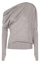 Tom Ford   Кашемировый пуловер асимметричного кроя Tom Ford   Clouty