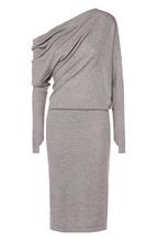 Tom Ford | Кашемировое приталенное платье с драпировкой Tom Ford | Clouty